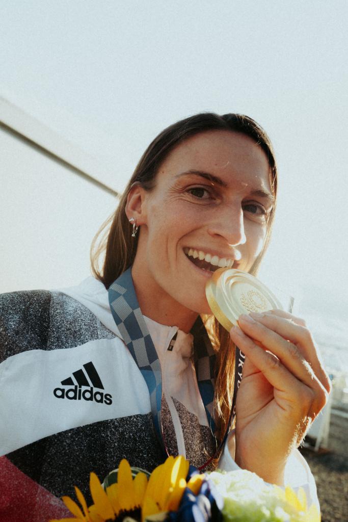 Ricarda Funk Olympiasiegerin